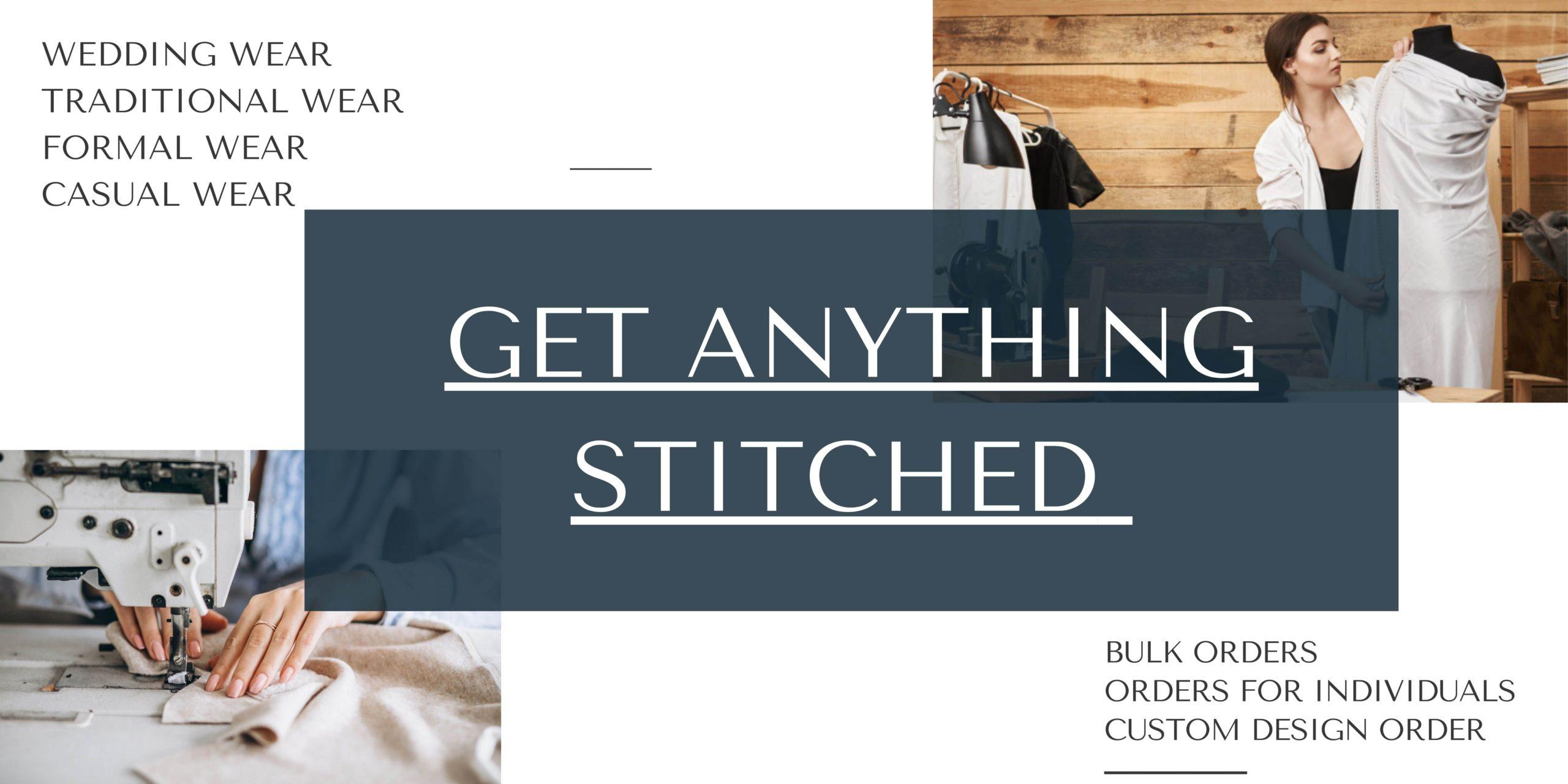 Online Stitching Service
